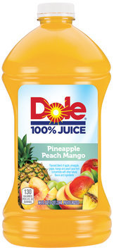 Dole® Pineapple Peach Mango 100% Juice 96 fl. oz. Bottle