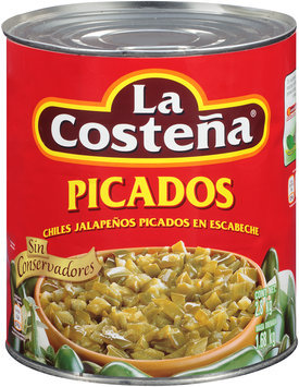 La Costena® Picados Chiles Jalapenos Picados En Escabeche 2.8 kg Can