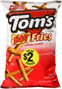 Tom's® Hot Fries 6 oz. Bag