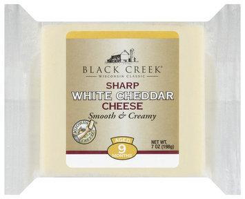 Black Creek Sharp White Cheddar Cheese 7 Oz Wrapper