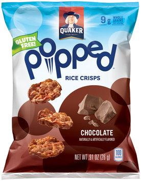 Quaker® Popped® Rice Crisps .91 oz. Bag