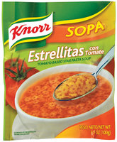 Knorr Tomato Based Star Pasta Soup 3.5 Oz Packet