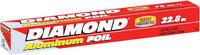 Diamond® Aluminum Foil 75 sq. ft. Box