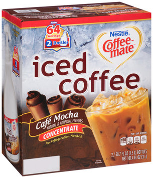 Nestlé Coffee-mate Cafe Mocha Iced Coffee Concentrate 50.7 fl. oz. Pump