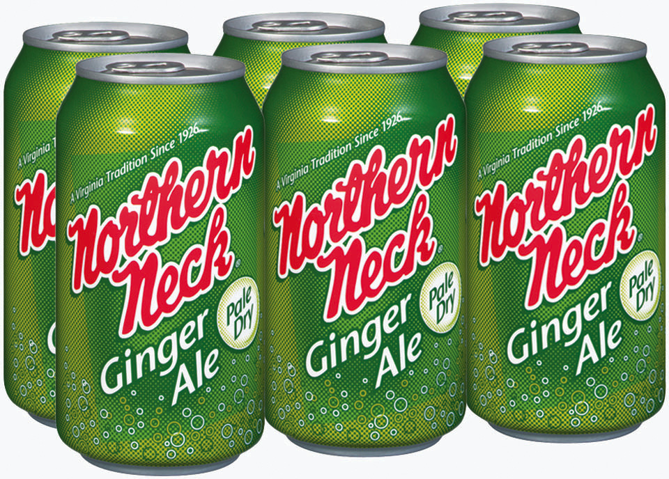 Northern Neck Pale Dry Ginger Ale 12 oz Can