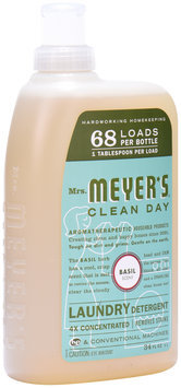 Mrs. Meyer's® Clean Day Basil Scent Laundry Detergent 34 fl. oz. Bottle