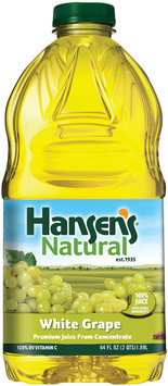 Hansen's® Natural White Grape 100% Juice 64 fl. oz. Bottle