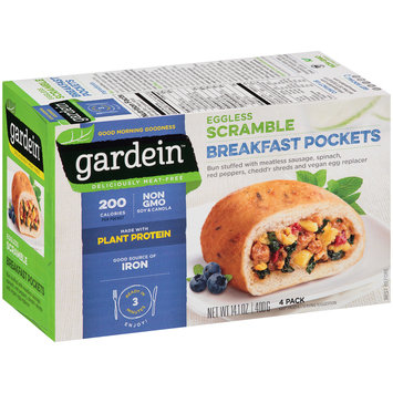 Gardein™ Eggless Scramble Breakfast Pockets 14.1 oz. Box