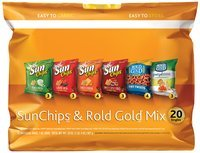 SunChips® Brand & Rold Gold® Brand Mix 20-1 oz. Bags