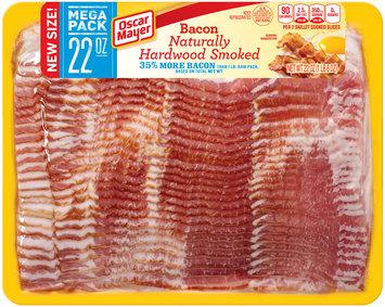 Oscar Mayer Naturally Hardwood Smoked Bacon 22 oz. Pack