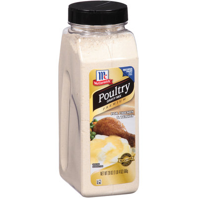 McCormick® Premium Poultry Gravy Mix for Chicken & Turkey