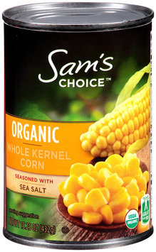 Sam's Choice™ Organic Whole Kernel Corn 15.25 oz. Can