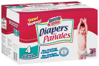 Special Value Size 4 Large 22-37 Lb Diapers 78 Ct Box