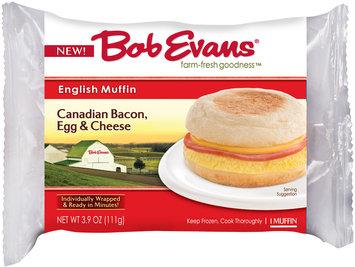 Bob Evans® Canadian Bacon, Egg & Cheese English Muffin 3.9 oz. Wrapper