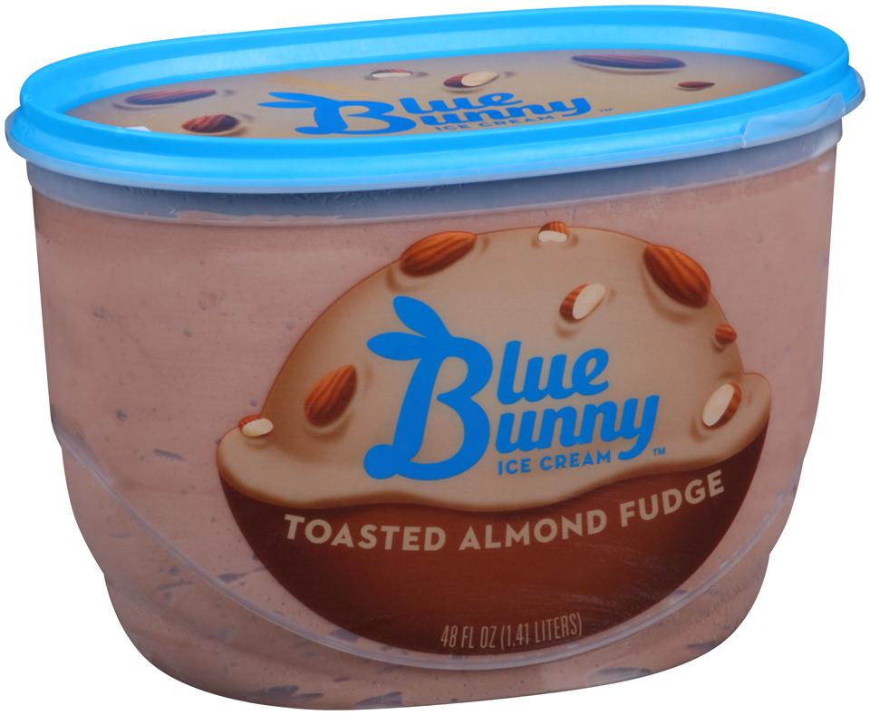 Blue Bunny Ice Cream Toasted Almond Fudge