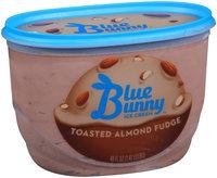 Blue Bunny™ Toasted Almond Fudge Ice Cream Tub 48 fl. oz.