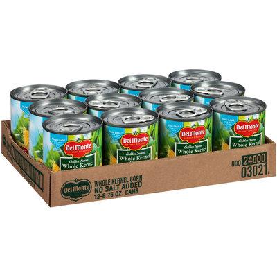 Del Monte™ No Salt Added Golden Sweet Whole Kernel Corn 12-8.75 oz. Cans