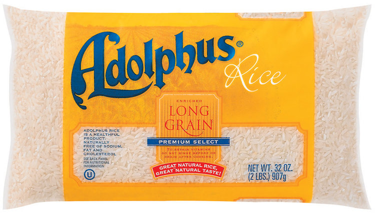 Adolphus Long Grain Enriched Premium Select Rice
