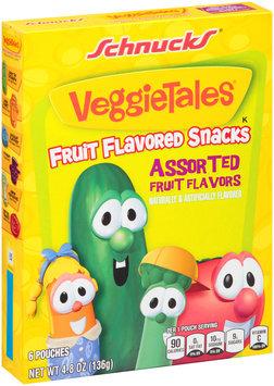 Schnucks® VeggieTales® Assorted Fruit Flavored Snacks 4.8 oz. Box