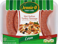 Jennie-O Lean Hot Italian Turkey Sausage 19.5 oz. Tray