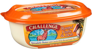 Challenge® Roasted Garlic & Herb Spreadable Butter