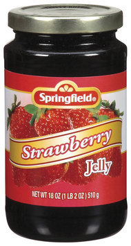 Springfield Strawberry  Jelly 18 Oz Jar