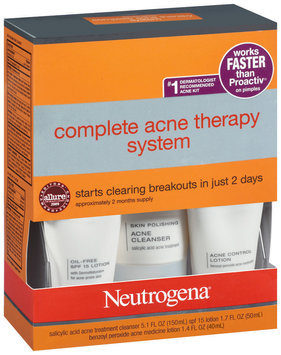Neutrogena® Complete Acne Therapy System Advanced Solutions™ 1 Kt Box