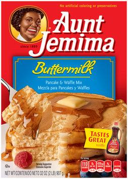 Aunt Jemima Buttermilk Pancake & Waffle Mix 32 Oz Box