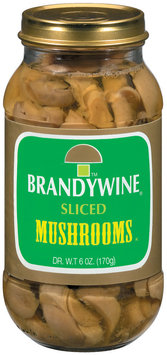 Brandywine Sliced Mushrooms 6 Oz Jar