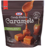 Kraft Candy Kitchen Caramel Apple Soft Caramels 8 oz. Pouch