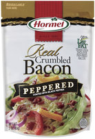 HORMEL Crumbled Bacon Peppered Bacon 3 OZ STAND UP BAG