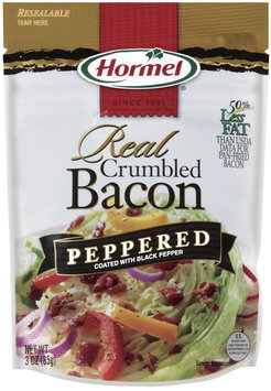 HORMEL Crumbled Bacon Peppered Bacon