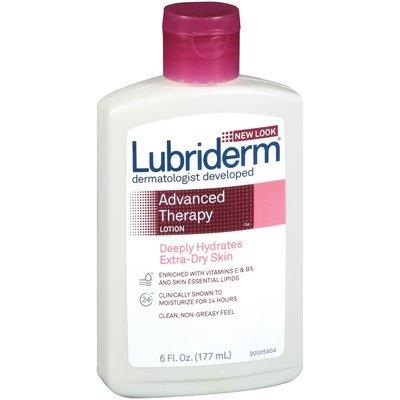 Lubriderm® Extra-Dry Skin Advanced Therapy Moisturizing Lotion 6 Oz Plastic Bottle