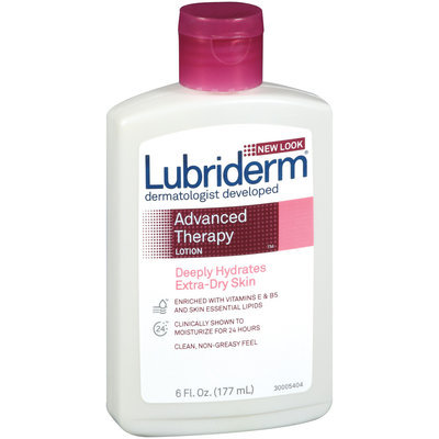 Lubriderm® Extra-Dry Skin Advanced Therapy Moisturizing Lotion 6 Oz Plastic Bottle