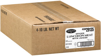 Armour Spiced Luncheon Meat 10 Lbs Deli - Ham