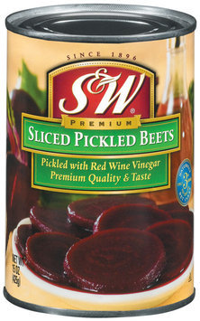 S&W® Sliced Pickled Beets 15 oz. Can