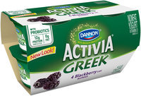 Dannon Activia Blackberry Greek Yogurt