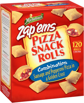 Michelina's® Zap'ems® Pizza Snack Rolls Combination 60 oz. Box