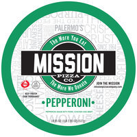 Mission Pizza Co. Thin Crust Pepperoni Pizza 18.95 oz. Pack