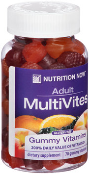 Nutrition Now™ Adult MultiVites Gummy Vitamins 70 ct Bottle