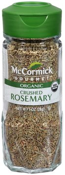 McCormick Gourmet™ Organic Crushed Rosemary 1 oz. Shaker