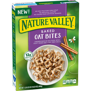 Nature Valley® Baked Oat Bites Cereal 16.25 oz. Box