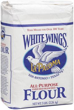 White Wings® La Paloma All-Purpose Enriched-Bleached Flour 5 lb. Bag