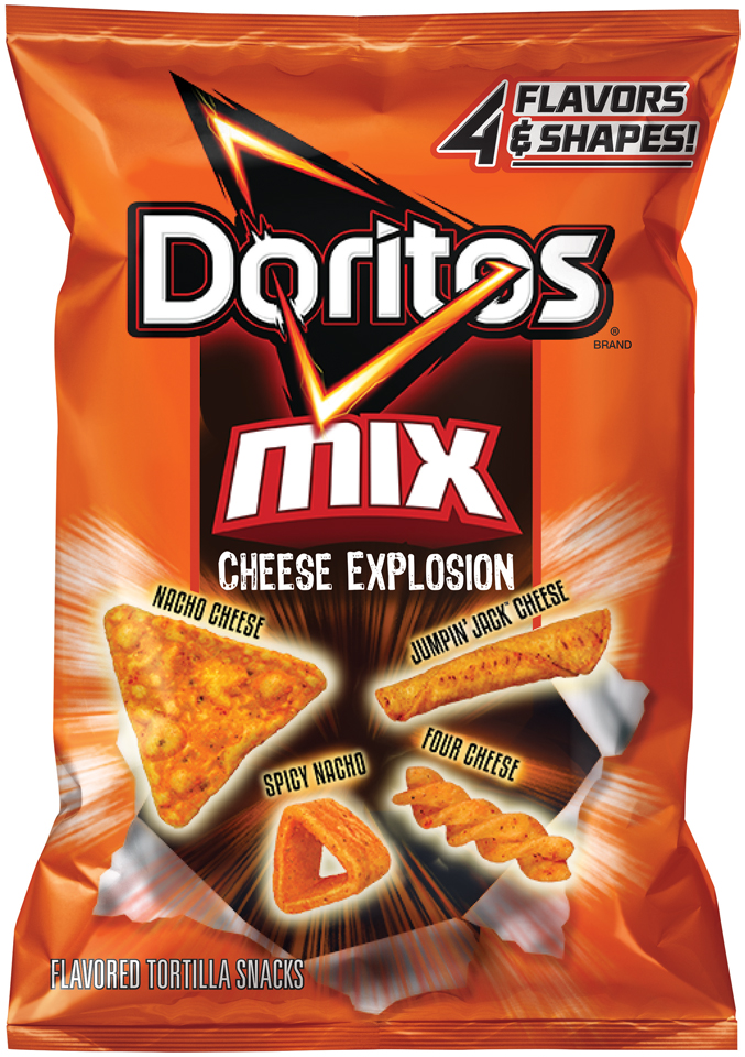 Doritos® Mix Cheese Explosion Flavored Tortilla Snacks