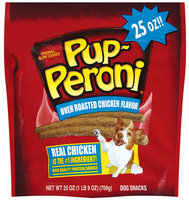 Pup-Puperoni® Oven Roasted Chicken Flavor Dog Snacks, 25-Ounce