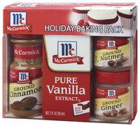 McCormick  Holiday Baking Pack