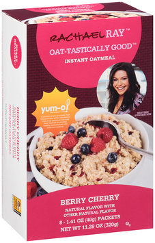 Rachael Ray™ Oat-tastically Good™ Instant Oatmeal Berry Cherry 8 ct. 11.29 oz. Box