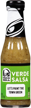Taco Bell® Verde Salsa 7.5 oz. Bottle