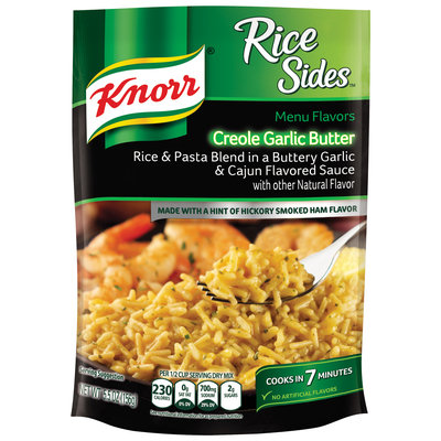 Knorr® Rice Sides™ Creole Garlic Butter Rice & Pasta Sauce