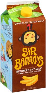 Sir Bananas™ Chocolate Bananamilk .5 gal. Carton